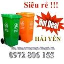 Tp. Hồ Chí Minh: Bán thùng rác công cộng 120l, 240l, 660l giá rẻ nhất toàn quốc 0972806155 CL1408700