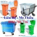 Tp. Hà Nội: thùng rác nhập khẩu các loại, thùng rác công cộng 120,240 lít, xe thu gom rác CL1408960