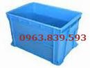 Tp. Hồ Chí Minh: Hộp nhựa công nghiệp, thùng nhựa đặc, khay nhựa bit giá cưc rẻ. CL1233723