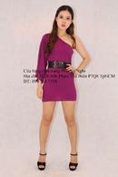 Tp. Đà Nẵng: Rao bán lô áo đầm siêu ngắn lệch vai Tee Shop phong cách thời trang hiện đại trẻ CL1414803