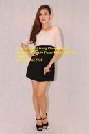 Tp. Hồ Chí Minh: Rao vặt bán lô đầm tay lỡ ren kết hợp với dệt kim hàng hiệu Speeckless CL1030343P9