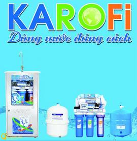 Máy lọc nước Karofi - Tự tin dùng hàng Việt