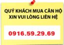 Tp. Hồ Chí Minh: Bán căn hộ Lexington giá từ 1. 3 tỷ/ căn(VAT), thanh toán 13tr/ tháng CL1216667