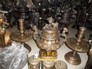 Tp. Hà Nội: Đỉnh đồng khảm bạc, đỉnh đồng tam khí 50cm - đồ đồng ngũ sắc, dinh dong do, dinh CL1417622