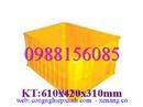 Sóc Trăng: Kệ dụng cụ, khay phụ tùng, sóng nhựa đặc, đan lưới, thùng nhựa công nghiệp CL1475903