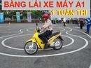 Tp. Hồ Chí Minh: Thi Bằng Lái Xe Máy A1 275. 000đ Tại TPHCM CL1703164