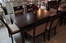 Tp. Hà Nội: Bán bộ bàn ghế ăn kéo giãn cao cấp gỗ sồi Mỹ phủ venner cao cấp CL1218070