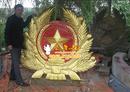 Tp. Hà Nội: Sản xuất, thi công, lắp đặt quốc huy, huy hiệu bằng đồng, quoc huy viet nam, hhu CL1424859