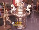 Tp. Hà Nội: Bộ đỉnh thờ giả cổ 50cm, 1 đỉnh, 2 hạc, 2 nến CL1429931