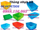Tp. Hồ Chí Minh: Cung cấp thùng nhựa bít, sóng nhựa bít các loại giá siêu rẻ CAT247_279P9