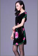 Tp. Hà Nội: Đầm nhung quý phái giấu bụng 4 CL1698799