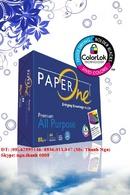 Tp. Hồ Chí Minh: Giấy excell A3, A4, A5, giấy double A, giấy Clever Up, giấy paper One A470/ 80 CL1447352
