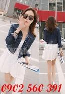 Tp. Hồ Chí Minh: Áo khoác jean 2 túi quảng châu cực xinh_Mã sp: AK7267 CL1479960