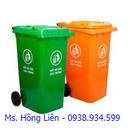 Tp. Hồ Chí Minh: Chuyên cung cấp thùng rác 2 bánh xe, xe rác 660 lít, thùng rác phân loại CL1397582P5