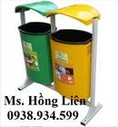 Tp. Hồ Chí Minh: Thùng rác 55l, thùng rác treo, thùng rác chân trụ tròn Thùng rác cọc FTR005, FT RSCL1647290