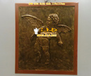 Tp. Hà Nội: phù điêu sen hac, phù điêu hoa sen, phu điêu giả đồng, đắp phù điêu, diêu khắc p CL1455996