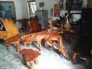 Thanh Hóa: Cần bán bộ bàn ghế được làm từ rễ nu (nguyên bộ rễ, tự nhiên không chấp vá) CL1455996