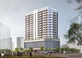 Bán tầng thương mại chung cư Diamond Blue số 69 Triều Khúc giá 18tr/ m2