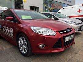 Focus All New 2. 0L Sport 2014, màu đỏ đô, xe lái thử của BenThanh Ford