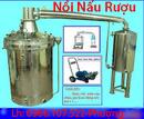 An Giang: Nồi nấu chưng cất rượu bằng than, điện-Lh:0986107522 CL1695982P9