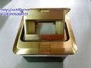 Tp. Hà Nội: Bộ đế âm sàn chất liệu đồng, mặt wall plate hdmi, đầu bấm mạng cat5 usa, CL1164364