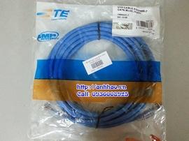 Patch cord lan cat5/ cat6. Cáp mạng bấm sẵn các hãng AMP, Vcom, Clipsal