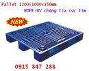 Tp. Hồ Chí Minh: Pallet nhựa xuất khẩu, pallet nhựa nhập khẩu từ Hàn Quốc, pallet nhựa siêu tải CL1196119P4