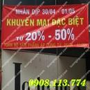 Tp. Hồ Chí Minh: Nhận In Băng Rôn Khẩu Hiệu-Bang Ron Tuyển Dụng-Giảm Giá CL1616416P10