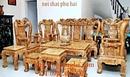 Bắc Ninh: Bàn ghế gỗ nu nghiến đẹp cột 12 - Đồ nội thất đồng kỵ RSCL1128729