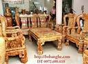 Bắc Ninh: Bàn ghế gỗ nu nghiến kiểu quốc triện - Đồ gỗ Phú Hải RSCL1128729