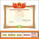 Tp. Hà Nội: Chuyên in giấy khen giá rẻ tại hà nội 0912363960 CL1469669