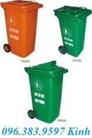 Quảng Ngãi: thùng rác môi trường, thùng đựng rác 120l, thùng rác nhựa 240l, bán xe quét rác CL1470339