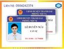 Tp. Hà Nội: In thẻ công chức tại Hà Nội lấy ngay ĐT0904242374 RSCL1073948
