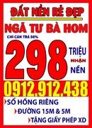 Tp. Hồ Chí Minh: Bán đất rẻ Bình Tân, 298 triệu(50%) có đất cất nhà. CL1475251