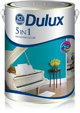 Giá sơn dulux 5 in 1, nhà phân phối sơn dulux giá sỉ mới nhất