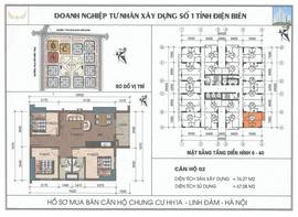 Bán căn góc tầng 21 chung cư HH1B Linh Đàm chênh siêu rẻ