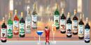 Tp. Hồ Chí Minh: Siro pha chế Cafe Sữa SinhTố Kem Cocktail Bar Coffee Smoothes IceCream Syrups CL1663064P9