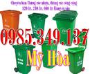Tp. Hồ Chí Minh: Bán rẻ Thùng rác 240 lít, thùng rác công cộng 240 lít, thùng rác 120 lít CL1222117P8