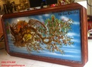 Tp. Hồ Chí Minh: Tranh đồng mai hóa rồng -đồ đồng truyền thống CL1490004