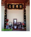 Tp. Hà Nội: Hoành phi câu đối gỗ sơn đồng đẹp rẻ CL1650202P5