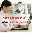Tp. Hồ Chí Minh: Nhận làm báo cáo thuế RSCL1111107