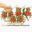 Tp. Hà Nội: kỳ lân phong thủy trấn trạch, kỳ lân đồng, vật phẩm phong thủy CL1496568