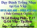 Tp. Hồ Chí Minh: Dạy đánh trống. dạy trống tại tphcm . dạy đánh trống nhạc CL1497346