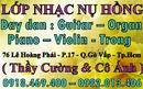 Tp. Hồ Chí Minh: Dạy đàn organ cấp tốc chuyên nghiệp . dạy đàn organ ra biểu diễn CL1497346