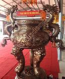 Tp. Hồ Chí Minh: Đỉnh thờ cúng, đỉnh cúng tiến, đỉnh song long chầu nguyệt, lư hương bày nhà chùa CL1499157