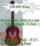 Tp. Hồ Chí Minh: Bán đàn guitar 390k/ cây. đàn guitar gỗ thông tự nhiên - âm thanh vang to - ấm CL1498884