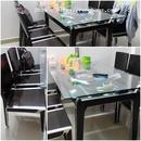 Tp. Hồ Chí Minh: Dọn nhà cần bán gấp bộ bàn ăn + 6 ghế. Chất liệu gỗ + bọc viền inox RSCL1093066