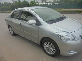 Bán xe VIOS E số tay 2011 mầu bạc mới cứng