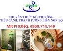 Tp. Hồ Chí Minh: Chuyên Thiết Kế, Thi Công Tiểu Cảnh, Tranh Tường, Hòn Non Bộ CL1529955