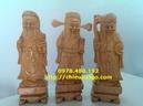 Tp. Hà Nội: Tượng gỗ Tam đa Phúc Lộc Thọ gỗ pơ mu CL1703005